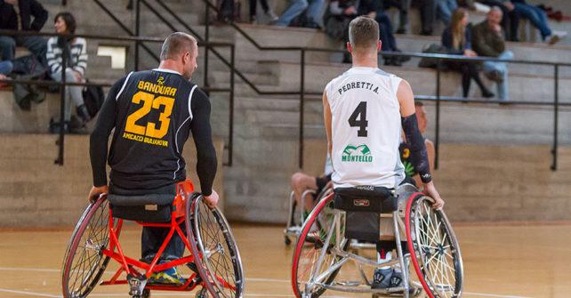Serie A Wheelchair SBS Montello Bergamo vs DECO Group Amicacci Giulianova