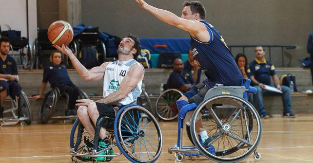 Serie A Wheelchair SBS Montello Bergamo vs SSD Santa Lucia Roma