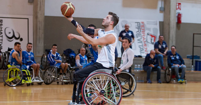 Serie A Wheelchair Basket SBS Montello Bergamo vs Dinamo Lab Banco di Sardegna Sassari