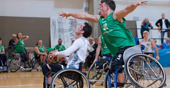 Serie A Wheelchair Basket SBS Montello Bergamo vs S.Stefano Sport Banca Marche
