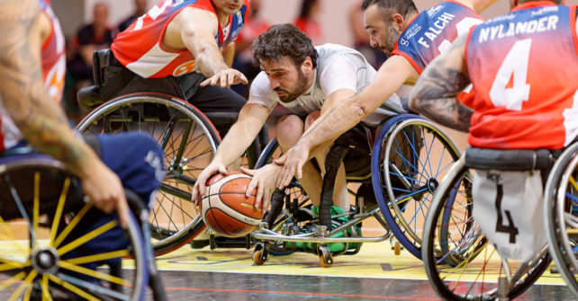 Serie A Wheelchair Basket SBS Montello Bergamo vs GSD Porto Torres