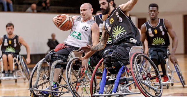 Serie A Wheelchair Basket SBS Montello Bergamo vs DECO Group Amicacci Giulianova